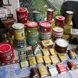 VINTAGE COLLECTION OF ESTATE TINS