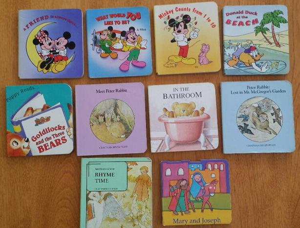 10 Kid's Board Books