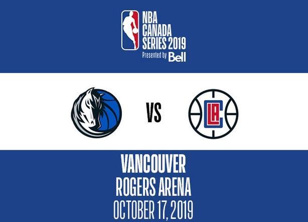 350 Nba Canada Series Clippers Vs Mavericks