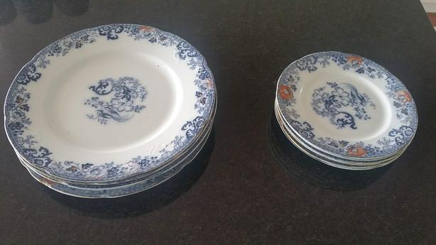 Old German Plates