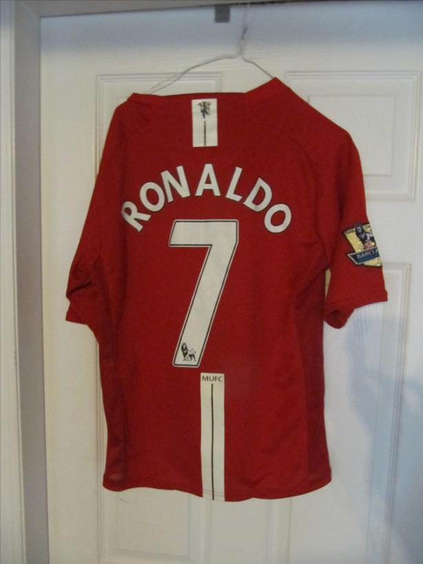 detailed look 96496 851b1  Log In needed $65 · Cristiano Ronaldo Manchester United L Jersey. All  Stitched. With Barclay patch