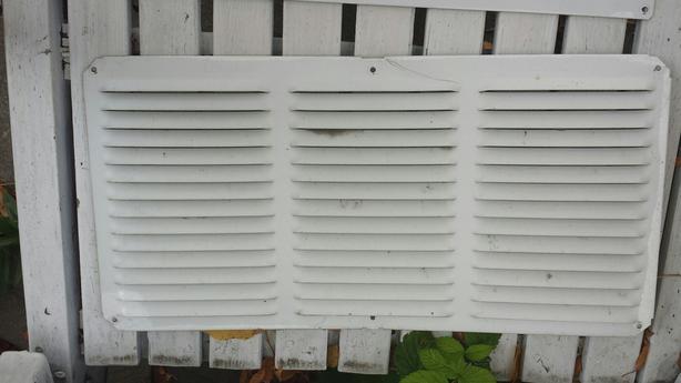 Twenty four 16 x 8 vents