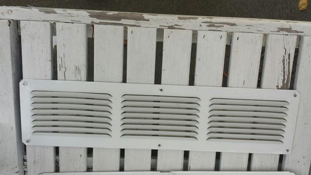 Sixteen 4 x 8   vents