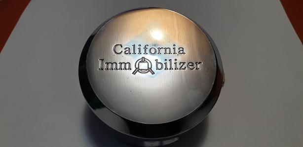 California Immobilizer Cargo Trailer Puck Locks