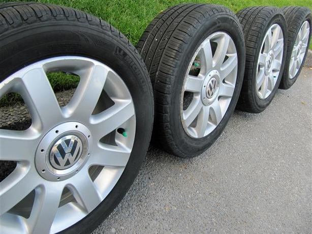 VW Rims & Tires ~ 205/55R16""