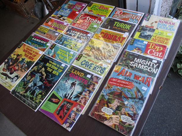 COLLECTOR COMICS FROM ESTATE