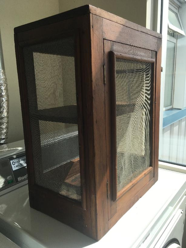 Antique Pie Safe / Curio