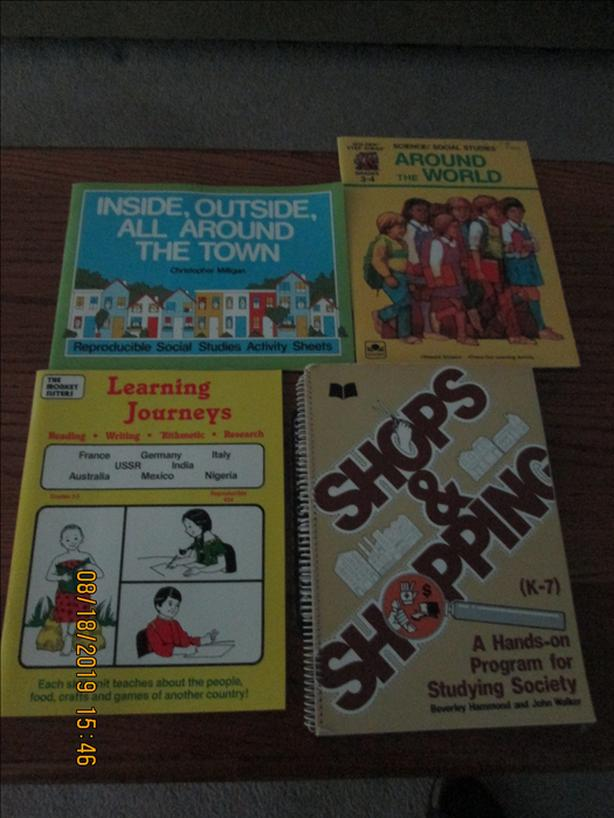Social Studies Teacher Resource Books