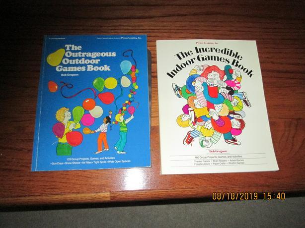 Gym Games Teacher Resource books
