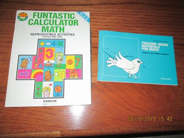 Math Teacher Resource Books