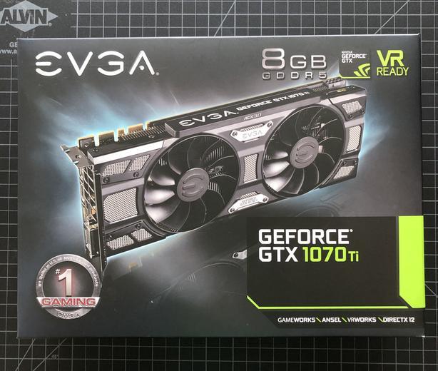 EVGA GTX 1070TI