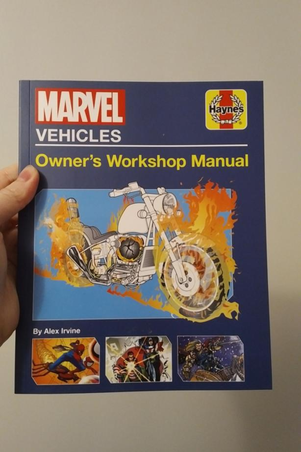 EXCLUSIVE: Marvel Vehicles - Owner's Workshop Manual - Not In Stores