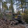 Volvo 235 excavator with blade - $20/hour off promo