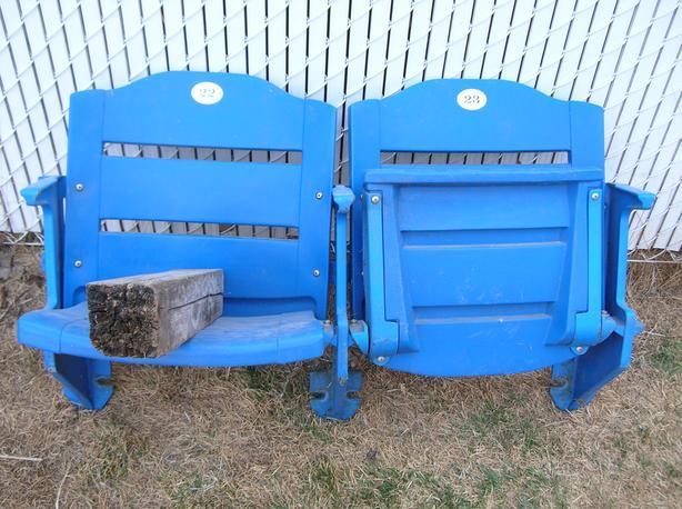 Blue Bomber Seats