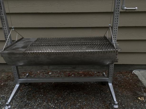 Custom Made Stainless Steel Barbecue.