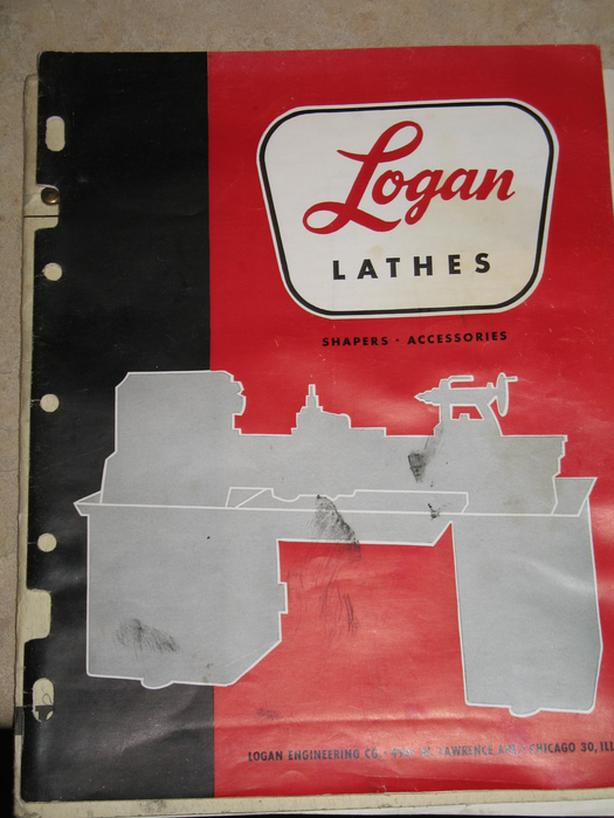 FREE: Logan lathe manual