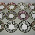Royal Albert England Bone China Teacup & Saucer Canada Provincial Flowers 12 Set