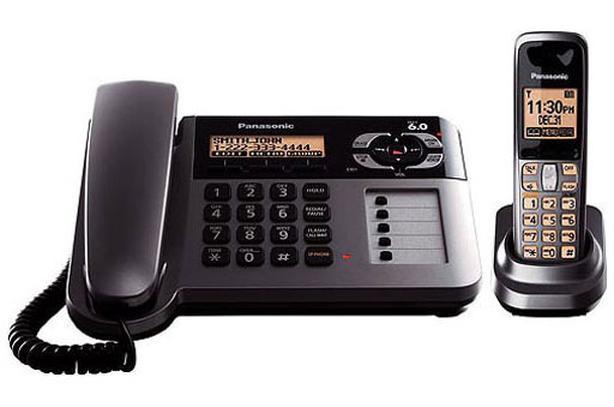 Panasonic Corded & Cordless Phone Set