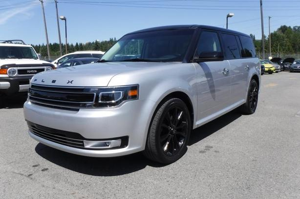 2019 Ford Flex Limited AWD with 3rd Row Seating