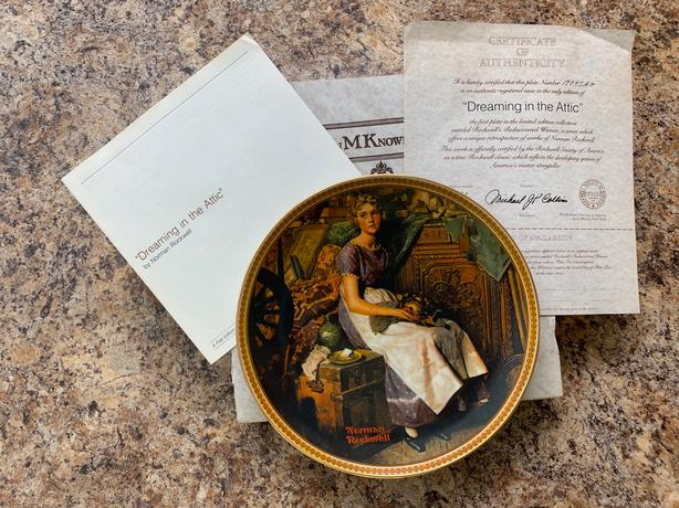 Authentic Rockwell Plates