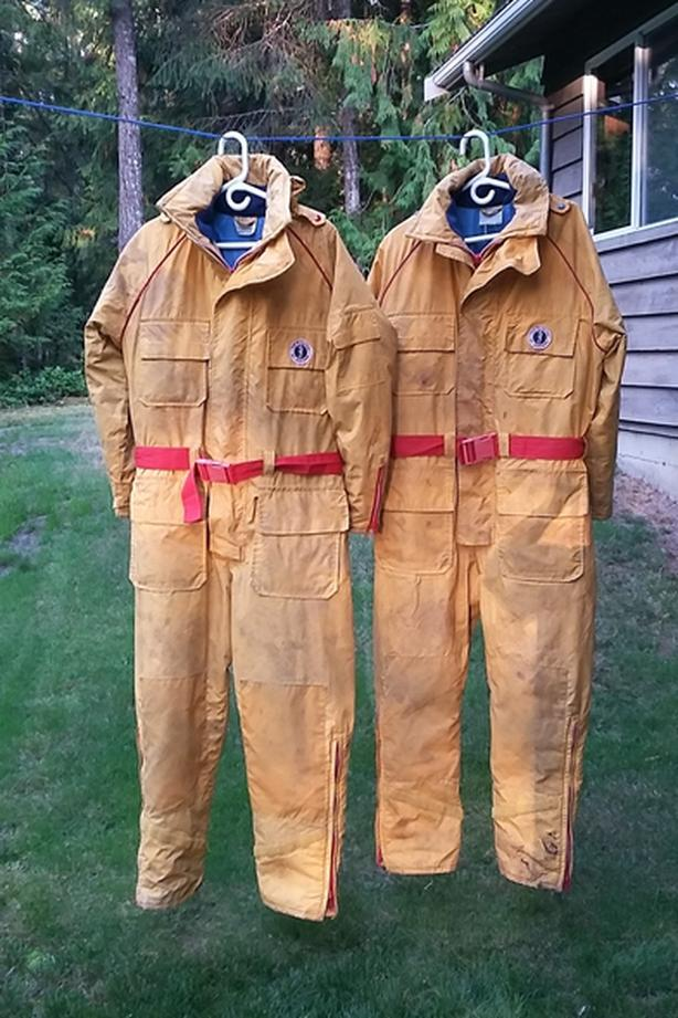 Mustang Survival suits