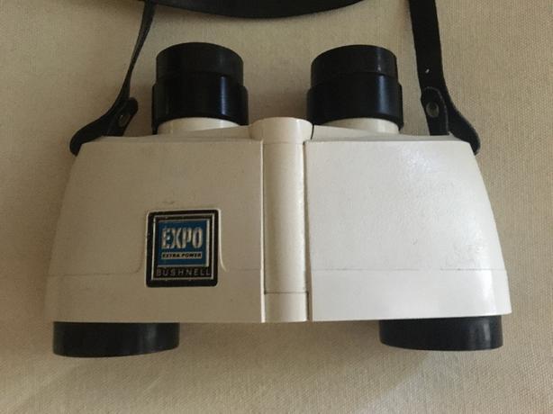 Vintage Bushnell Expo Extra Power Thumb Focus Binocular