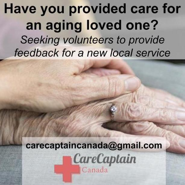Have you provided care for an aging family member?