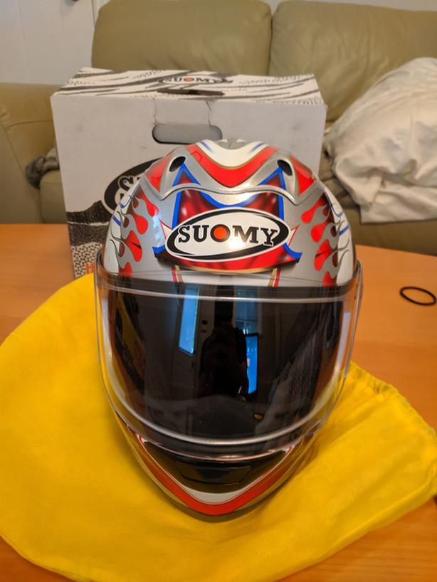 NEW Medium Suomy Trek Motorcycle Helmet