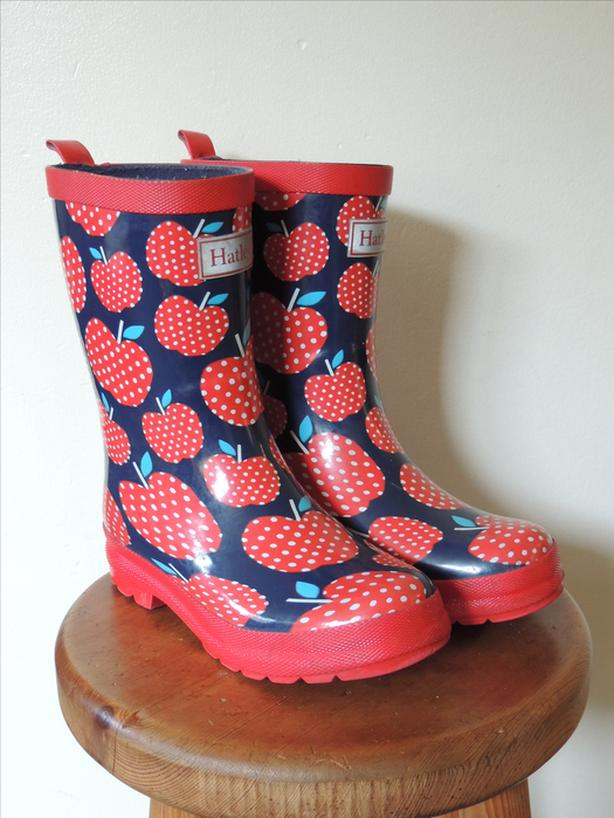 Hatley size 1 US rubber boots, great shape