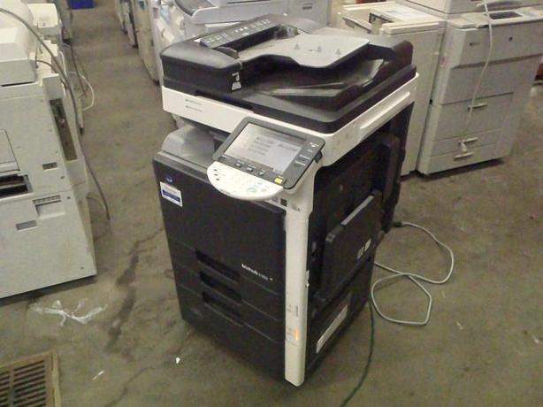 2008 Konica Minolta Bizhub C203 Colour Photocopier
