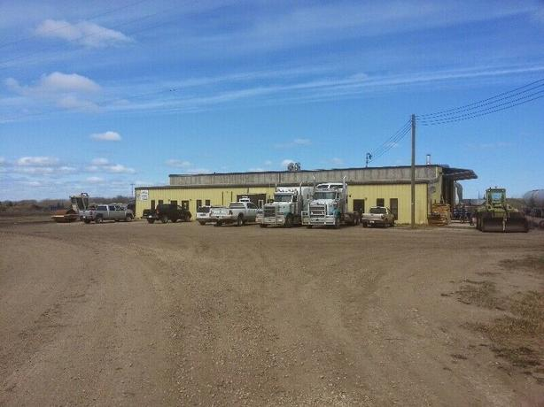 Commercial Shop and Yard for Sale