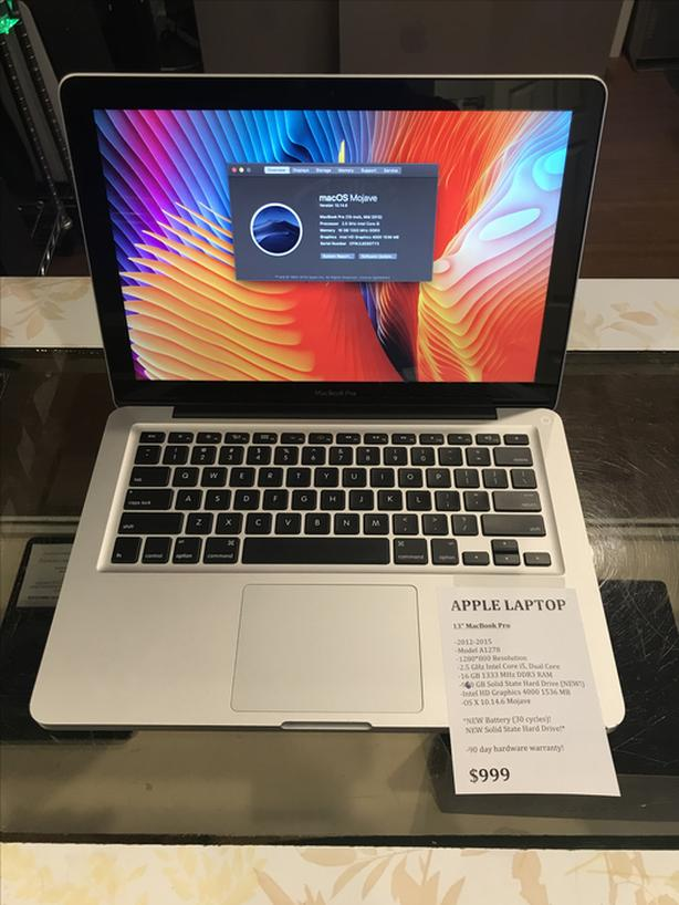 """13"""" MacBook Pro 2.5GHz Intel Core i5 16GB RAM 960GB SSD w/ Warranty!"""