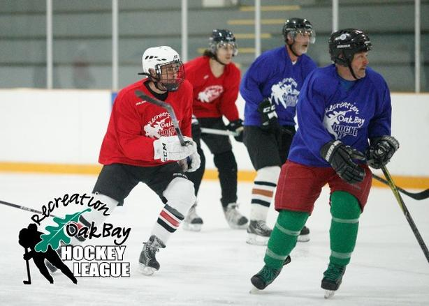Recreation Oak Bay Adult Hockey League