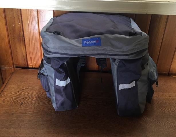 Bike Panniers, Saddle Pack and Handlebar Packs - 3 For Sale
