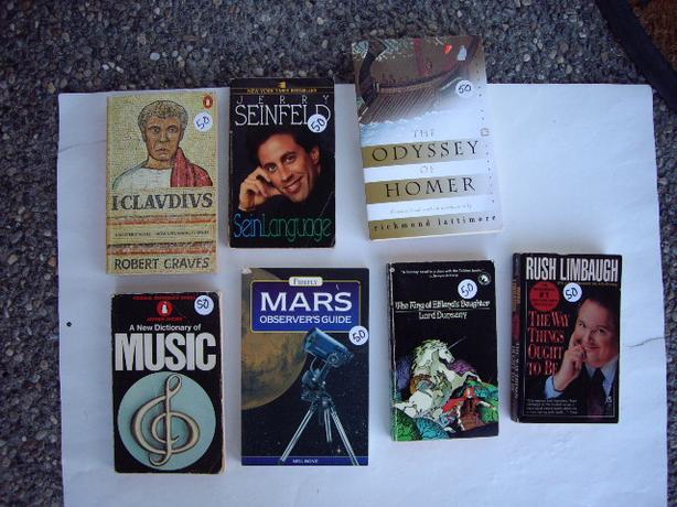 books see description