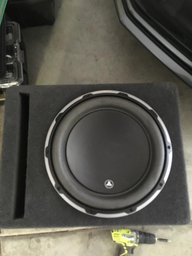 "JL Audio 12w6v3-d4-12"" in slot ported box"