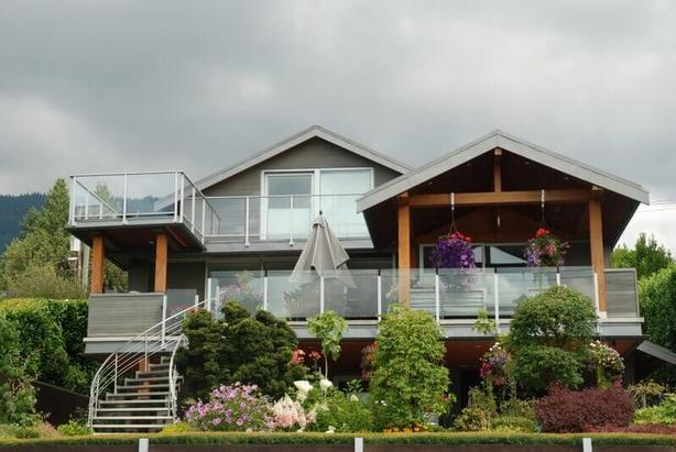 Stunning Ocean View 2 Bedroom Furnished Suite in West Vancouver #886