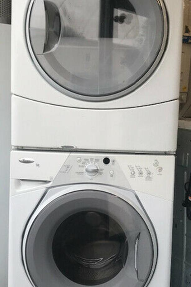 Whirlpool Stacking Washer/Dryer Set