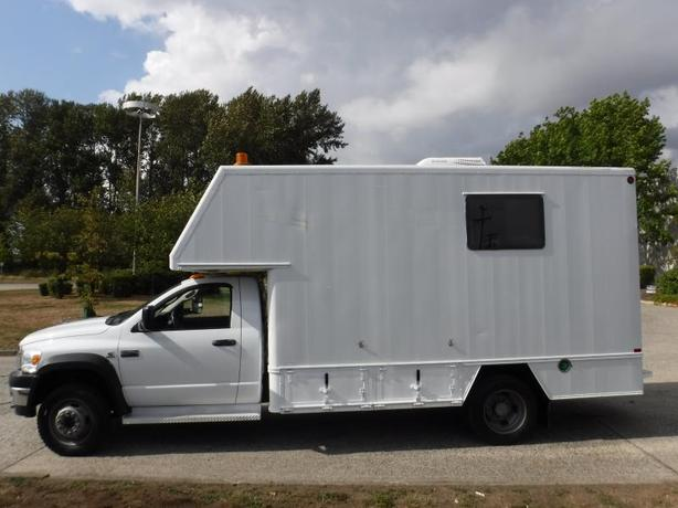 2008 Sterling Bullet Cube Van Workshop 14 Foot  Diesel with Generator 4WD