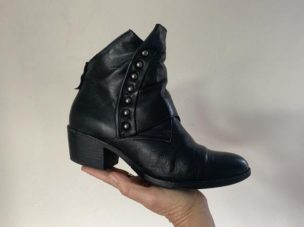 Black Ankle Boots Size 38