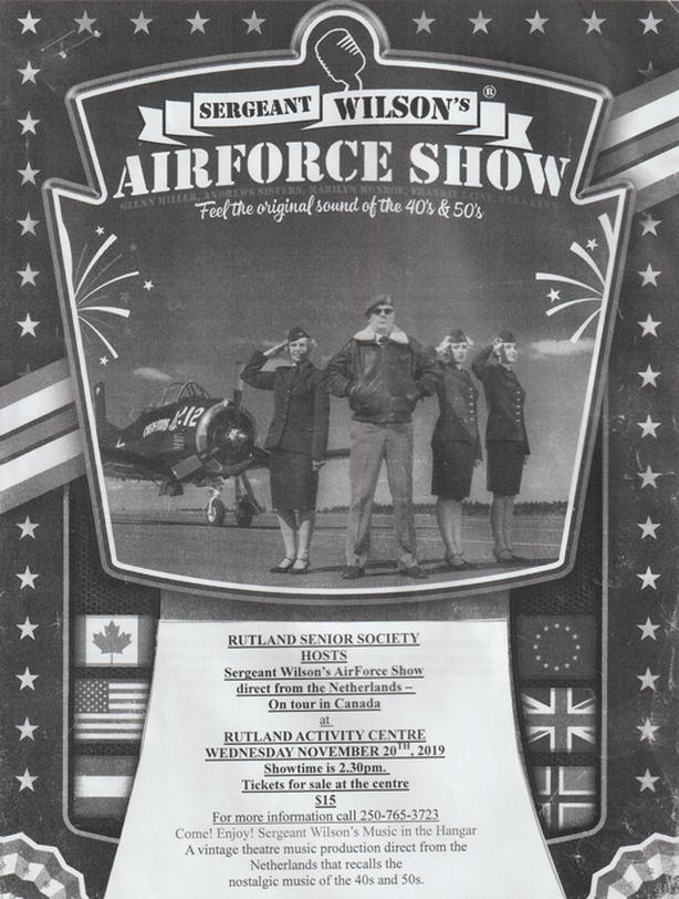 Sergeant Wilson's Airforce Show