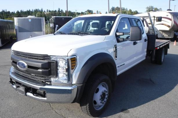 2018 Ford F-550 XL Crew Cab 11 Foot Flatdeck 4WD Diesel