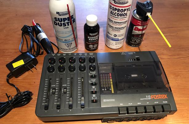 Fostex X-18 4-Track Cassette Tape Recorder