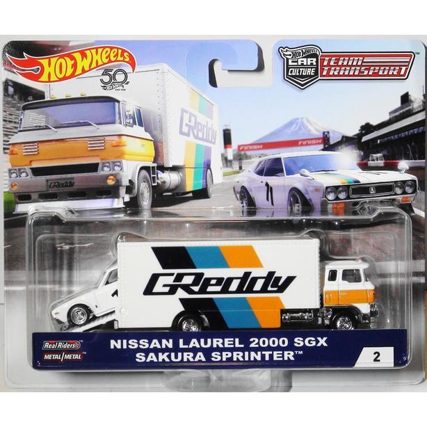 Hot Wheels Team Transport Nissan Laurel 2000 SGX