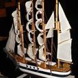 Prebuilt Sailing Ship Model Nautical Statue 4 Different Choose Any 2 New