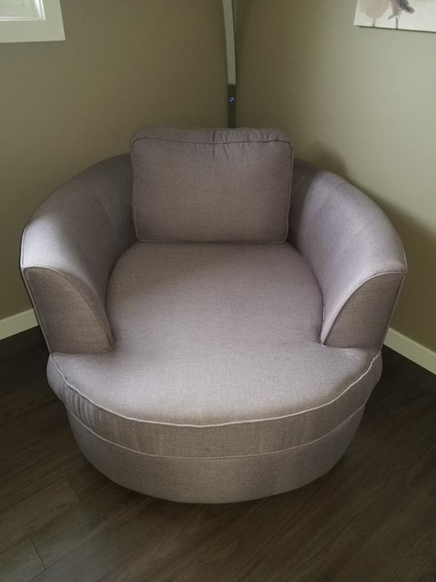 Custom Snuggle Chair