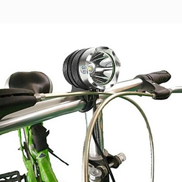 Bicylce Bike Front LED Light Headlight with Rechargeable Battery Pack