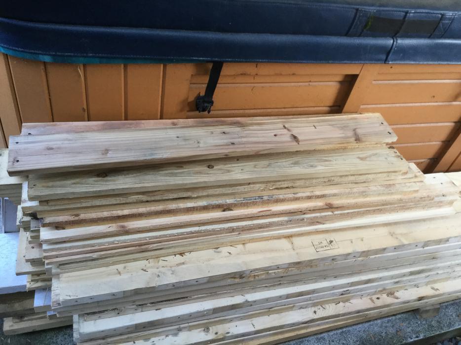 Pallet wood for sale - various sizes, no nails West Shore ...