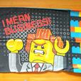 Lego Movie twin bedding set