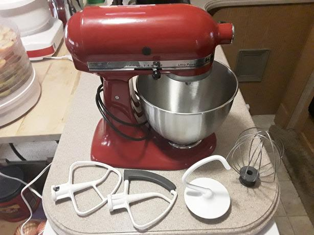 Kitchenaid Standmixer Ultrapower red
